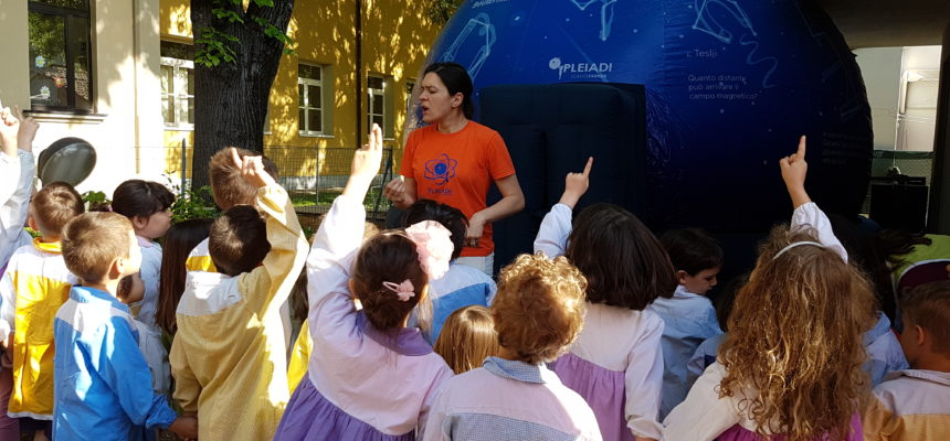 Gruppo Pleiadi di Padova e il Planetario a scuola!!!