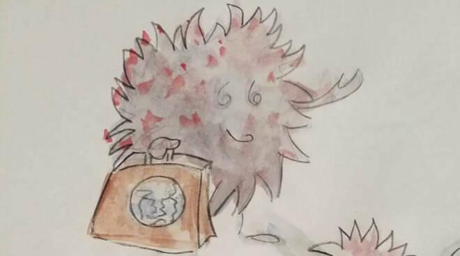 LO SCIENZIATO VOLANTE , fiaba per bambini sul CoronaVirus